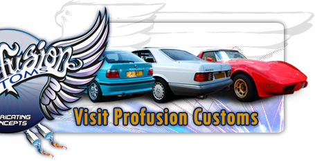 Profusion Customs custom built exhaust from magnaflow magnaflow cat backs